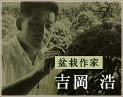 盆栽作家吉岡 浩